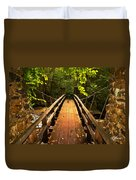 Swinging Bridge Duvet Cover