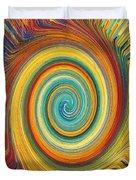Swirl 82 Duvet Cover