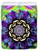 Swirling Crown Duvet Cover