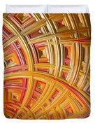 Swirling Rectangles Duvet Cover