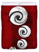 Swirling Round Duvet Cover