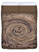Swirling Sand Duvet Cover