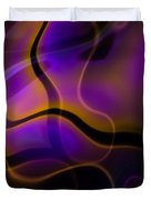 Swirly Bits Duvet Cover by Hakon Soreide