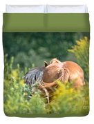 Swishing Tails Duvet Cover
