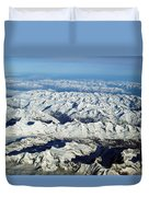 Swiss Alps Duvet Cover