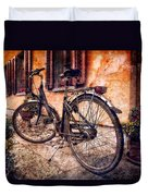Swiss Bicycle Duvet Cover