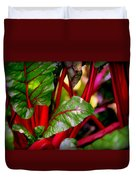 Swiss Chard Forest Duvet Cover
