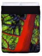 Swiss Chard Duvet Cover