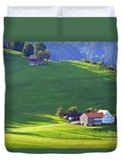 Swiss Farm House Duvet Cover