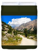 Swiss Mountains Duvet Cover