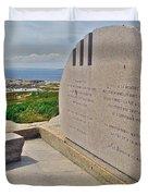 Swissair Flight 111 Of 1998 Memorial In Whalesback-ns Duvet Cover