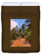 Switchback Path Duvet Cover