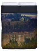 Swollen River Duvet Cover