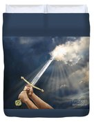 Sword Of The Spirit Duvet Cover