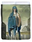 Sybil, Illustration From Lantique Rome Duvet Cover