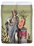Sybil Of Cumae, No. 16 From Antique Duvet Cover