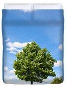 Sycamore  Acer Pseudoplatanus Duvet Cover