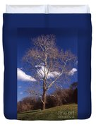 Sycamore On The Hill Duvet Cover