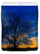 Sycamore Sunset Duvet Cover