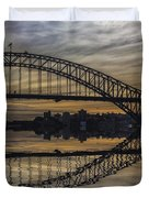Sydney Harbour Late Afternoon Duvet Cover
