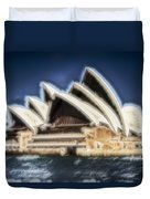 Sydney Opera House V11 Duvet Cover