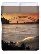 Sydney Surf Time Duvet Cover