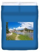 Sylvan Lake Trail In Custer State Park-south Dakota Duvet Cover