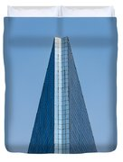 Symmetrical Skyscraper Duvet Cover