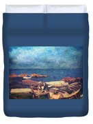 Symphony Of Silence Duvet Cover