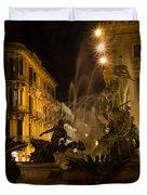 Syracuse - Diana Fountain  Duvet Cover