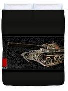 T-54 Soviet Tank Bk-bg Duvet Cover