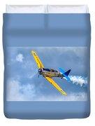 T-6 Texan Flying Duvet Cover