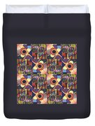 T J O D Tile Variations 10 Duvet Cover