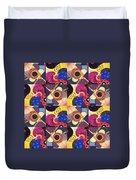 T J O D Tile Variations 14 Duvet Cover