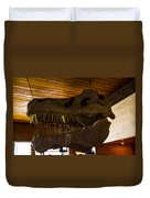 T Rex Head Duvet Cover