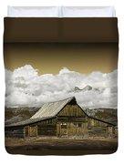 T.a. Moulton Barn In The Grand Tetons Duvet Cover