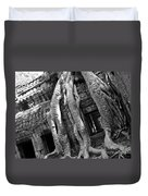 Ta Prohm Roots And Stone 03 Duvet Cover