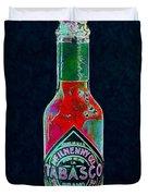 Tabasco Sauce 20130402 Duvet Cover