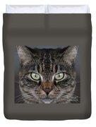 Tabby Cat Face Duvet Cover