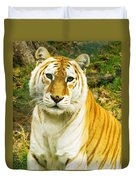 Tabby Tiger I Duvet Cover