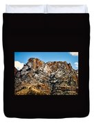 Table Mountain In Winter 42 Duvet Cover