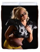 Tackle Or Flag Football Duvet Cover