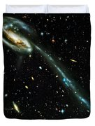Tadpole Galaxy Duvet Cover by Jennifer Rondinelli Reilly - Fine Art Photography