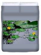 Tadpole Haven Duvet Cover by Frozen in Time Fine Art Photography