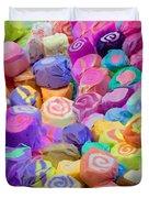 Taffy Candyland Duvet Cover