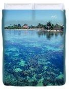Tahiti Papeete Duvet Cover
