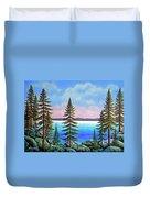 Tahoe Pines Duvet Cover
