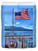 Tahoe Queen Lake Tahoe By Diana Sainz Duvet Cover