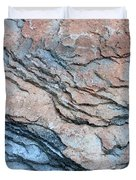 Tahoe Rock Formation Duvet Cover