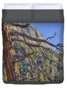 Tahquitz And The Pine Duvet Cover
